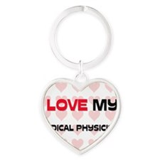 MEDICAL-PHYSICIST38 Heart Keychain
