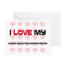 HIGHER-EDUCATION-ADM106 Greeting Card