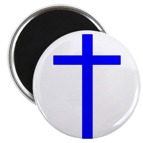 Blue Cross Magnet