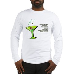 NEW YEAR RESOLUTIONS Long Sleeve T-Shirt