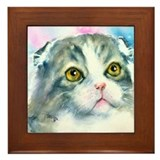 Scottish Fold Framed Tile