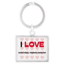 OCCUPATIONAL-THERAPY27 Landscape Keychain