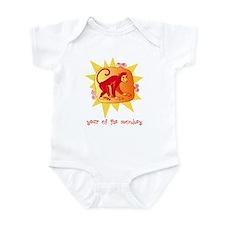 Year of the Monkey 2 Infant Bodysuit