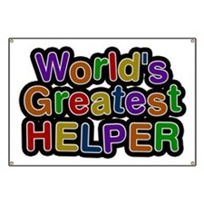 World's Greatest Helper Banner