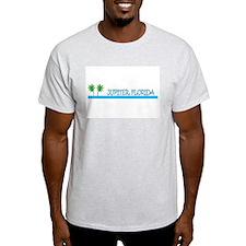Jupiter, Florida Ash Grey T-Shirt