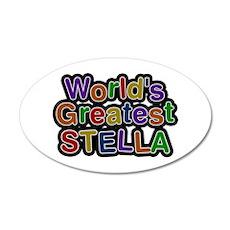 World's Greatest Stella 35x21 Oval Wall Decal
