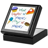 New Nana Keepsake Box