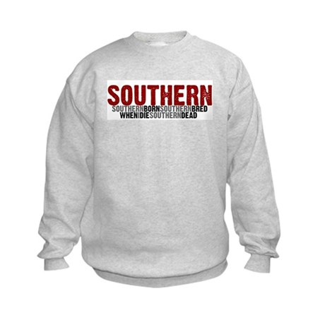 SOUTHERN BORN Kids Sweatshirt