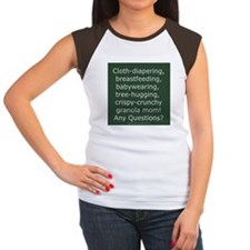 Cloth Diapering Attachment Parenting Tee
