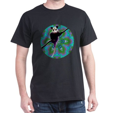 Possum Kaleidoscope Dark T-Shirt