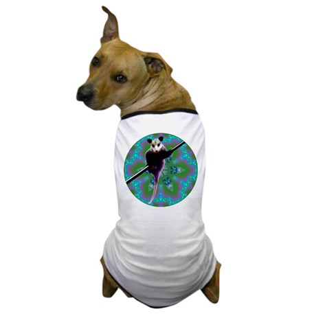 Possum Kaleidoscope Dog T-Shirt