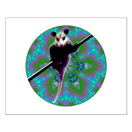 Possum Kaleidoscope Small Poster