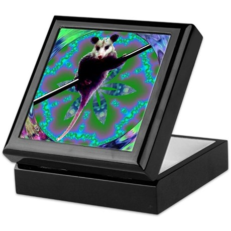 Possum Kaleidoscope Keepsake Box