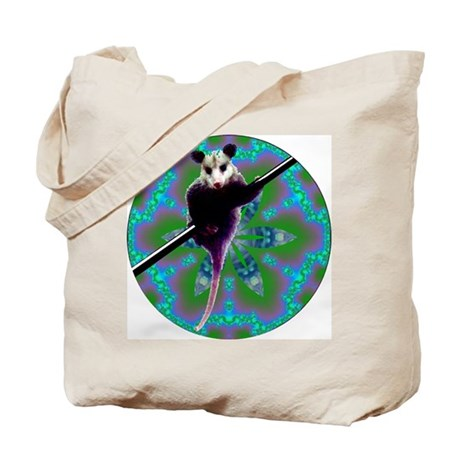 Possum Kaleidoscope Tote Bag