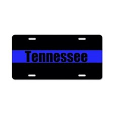 Tennessee Police Aluminum License Plate