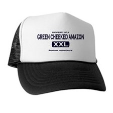 property_of_greencheekedamazon Hat