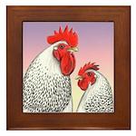 Delaware Fowl Framed Tile
