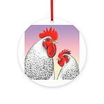 Delaware Fowl Ornament (Round)