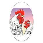 Delaware Fowl Oval Sticker