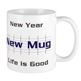 New Year Mug small