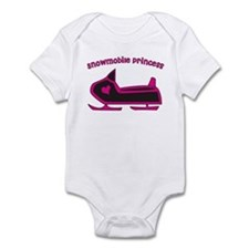 """Snowmobile Princess"" Onesie"