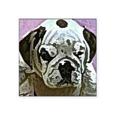 "EBulldog Tile Box Square Sticker 3"" x 3"""