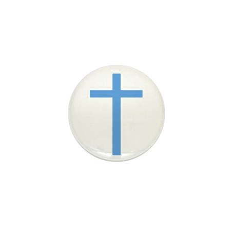 Blue Cross Mini Button (10 pack)
