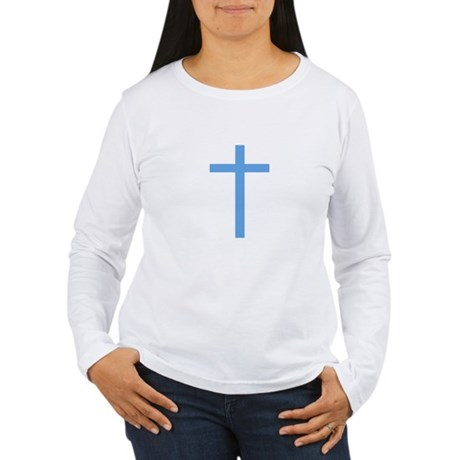 Blue Cross Women's Long Sleeve T-Shirt