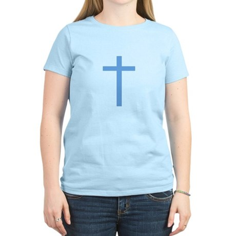 Blue Cross Women's Pink T-Shirt