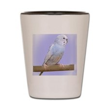 budgie3_ornament Shot Glass