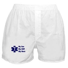 My Son My EMT Boxer Shorts