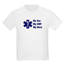 My Son My EMT Kids T-Shirt