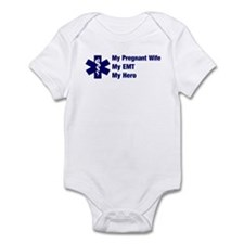 My Pregnant Wife My EMT Infant Bodysuit