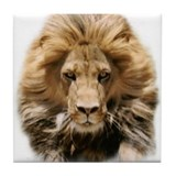 Lion Head Tile Coaster