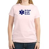 My Parent My EMT Women's Pink T-Shirt