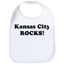 Kansas City Rocks! Bib