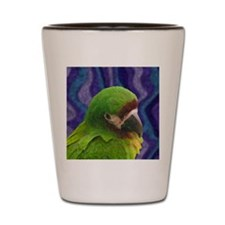 severemacaw_oilornament Shot Glass