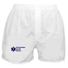 My Grandmother My EMT Boxer Shorts