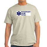 My Granddaughter My EMT Ash Grey T-Shirt