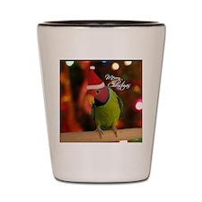 plumhead_santa_ornament Shot Glass