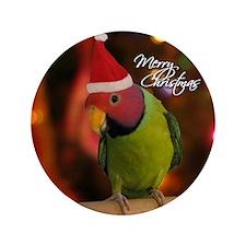 "plumhead_santa_ornament 3.5"" Button"