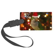 quaker_santa_card Luggage Tag