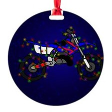 blue_lightbike Ornament