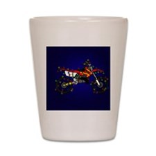 red_lightbike Shot Glass