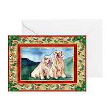 Clumber Spaniel Christmas Greeting Card (Pk of 10)