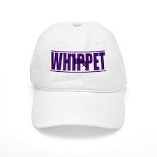 hidden_whippet_purp Baseball Cap