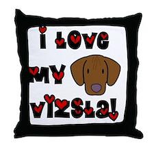generic_lovevizsla Throw Pillow