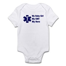 My Baby Girl My EMT Infant Bodysuit