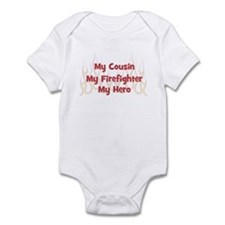 My Cousin My Firefighter Infant Bodysuit