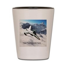F-18 Hornet Shot Glass